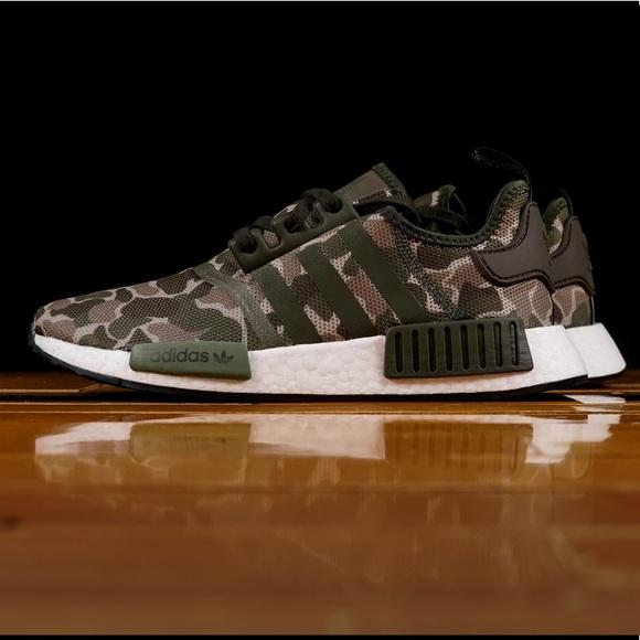 378554f9ad994 adidas Shoes | Nmd R1 Duck Camo | Poshmark